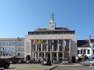 Turnhout - Image: Turnhout, stadhuis foto 4 2010 10 03 13.03