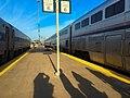 Two trains at Kansas City Union Station, May 2016 (161317729).jpg