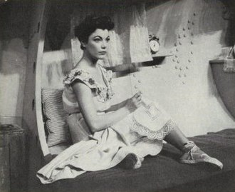 Judy Tyler - Tyler in the broadway production of Pipe Dream (1955)