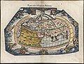 Typus Orbis descriptione Ptolemaei, Laurent Fries verdenskart, 1541.jpg