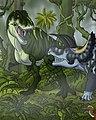 Tyrannosaurus Versus Triceratops.jpg