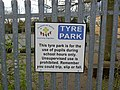 Tyre Park sign - geograph.org.uk - 744333.jpg