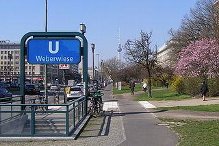Weberwiese (Berlin U-Bahn) Berlin U-Bahn station