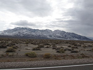 U.S. Route 95 in Nevada - View from US 95 near Tonopah, Nevada