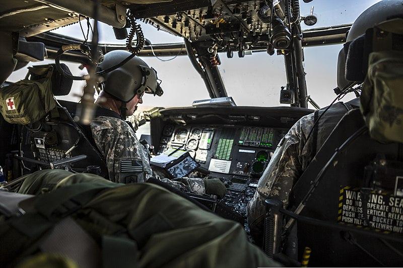 File U S Army Chief Warrant Ray Smith A Uh 60 Black Hawk