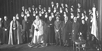 Pontifical Catholic University of Argentina - Foundational act, 1910