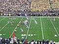 UConn vs. Michigan 2010 13 (UConn on offense).JPG