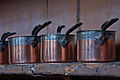 UK, Sussex - Copper saucepans at Petworth House.jpg