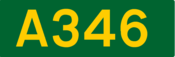 A346 road shield