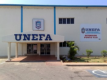 UNEFA Punto Fijo campus front