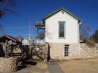 Meade County, Kansas - Image: US KS Meade Dalton Gang Hideout 2006.01.10 001