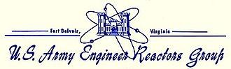 Army Nuclear Power Program - US Army Engineer Reactors Group letterhead