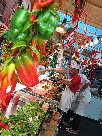Feast of San Gennaro - Image: USA san gennaro vendors NY