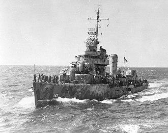 USS Aaron Ward (DD-483) - Image: USS Aaron Ward (DD 483)