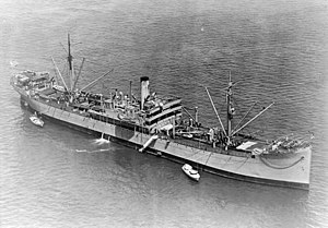 USS Arctic (AF-7) at anchor on 6 May 1924 (80-G-466223).jpg