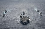 USS Carl Vinson and escorts in the Philippine Sea 02 (2017).jpg