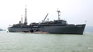 USS Frank Cable in Hong Kong, October 2006