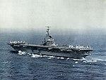 USS Oriskany (CVA-34) underway at sea, in 1956.jpg