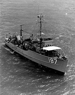 USS <i>Parrot</i> (MSC-197)