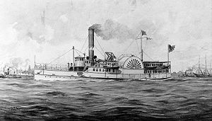 Roanoke Island order of battle - USS Philadelphia