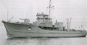 Auxiliary Motor Minesweepers (YMS) - Image: USS YMS 143