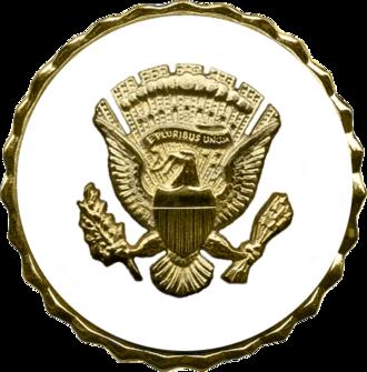 Vice Presidential Service Badge - Vice Presidential Service Badge