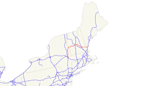 U.S. Route 4 - Image: US 4 map