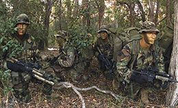 US Marines on reconnaissance exercise 2003 crop.jpg