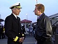 US Navy 030303-N-8273J-001 Radm. Locklear meets with media before deployment with USS Nimtiz battle group.jpg