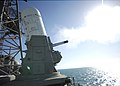 US Navy 031103-N-6939M-001 USS Port Royal (CG 73) fires a Phalanx Close In Weapons System.jpg