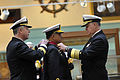US Navy 100318-N-8273J-048 Chief of Naval Operations (CNO) Adm. Gary Roughead hosts the Chief of Naval Staff of the Pakistan Navy Adm. Noman Bashir during a welcoming ceremony at the Washington Navy Yard.jpg