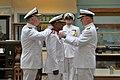 US Navy 110518-N-ZB612-081 Chief of Naval Operations (CNO) Adm. Gary Roughead presents the Legion of Merit to Staff Brig. Gen. Ibrahim Salim Al Mus.jpg