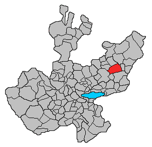 San Miguel el Alto - Image: Ubicacion SMG