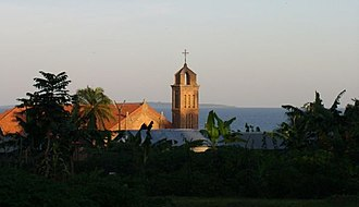 Religion in Uganda - Church in Entebbe, Uganda