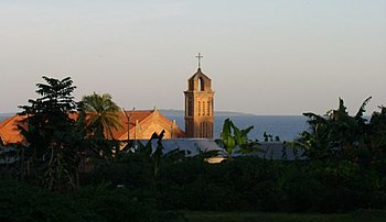 Church in Entebbe, Uganda