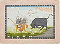 Unknown (Indian) - Durga in Combat with the Bull, Mahishasura - 69.428 - Detroit Institute of Arts.jpg