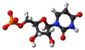 Uridine monophosphate anion 3D ball.png