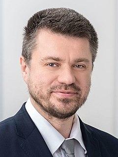 Urmas Reinsalu Estonian politician