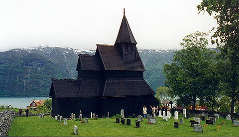 The Urnes Stave Church has been listed by UNESCO as a World Heritage Site. Urnesstavkirke.jpg