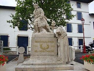 monument aux morts d'Urrugne