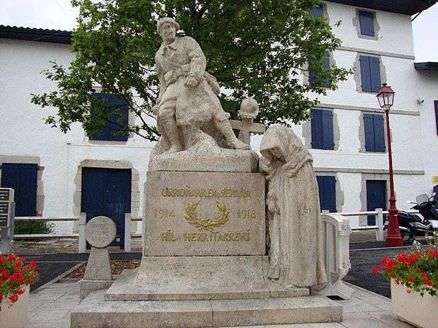 Monument historique à Urrugne
