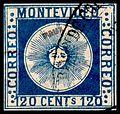 Uruguay 1858 120c Fournier Counterfeit.jpg