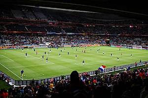 2010 FIFA World Cup Group A - Uruguay vs France warm up