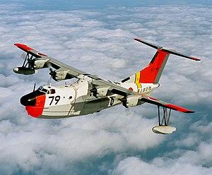 Shin Meiwa US-1A - A US-1A in flight
