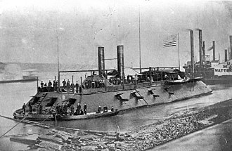 Missouri in the American Civil War - City-class gunboat USS Cairo