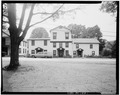 VIEW OF EAST ELEVATION - Delaware House Hotel, U.S. Route 209, Dingmans Ferry, Pike County, PA HABS PA,52-DING,2-1.tif
