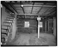 VIEW OF INTERIOR - Agness Guard Station, Warehouse, Confluence of Rogue and Illinois Rivers, Agness, Curry County, OR HABS ORE,8-AGNES,1C-3.tif