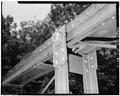 VIEW OF TOP CHORD AND RIVET JOINT - North Carolina Route 1417 Bridge, Spanning Dan River, Danbury, Stokes County, NC HAER NC,85-DANB.V,1-5.tif