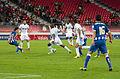 Valais Cup 2013 - OM-FC Porto 13-07-2013 - Herrera, Mathieu Valbuena, André Ayew, Dimitri Payet, Castro.jpg