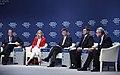"""Valdis Dombrovskis Pasaules ekonomikas forumā piedalās diskusijā """"Eiropas krīze un tās ietekme"""" (7975550008).jpg"""